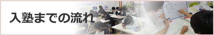 中学生コース入塾までの流れ